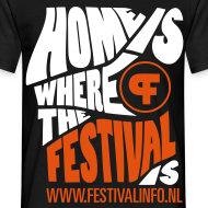 Ontwerp ~ Home is a festival (male)