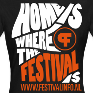 Ontwerp ~ Home is a festival (female)