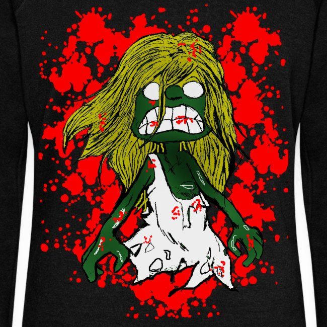 Pull femme zombie
