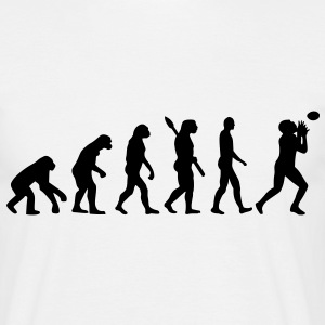 Evolution Football T-Shirts - Männer T-Shirt