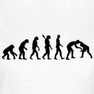 Evolution Ringen T-Shirts - Frauen T-Shirt