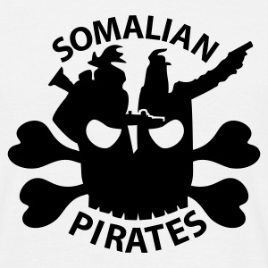 Somalian Pirates T-Shirts - Men's T-Shirt