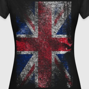 union jack - used look Tee shirts - T-shirt Femme