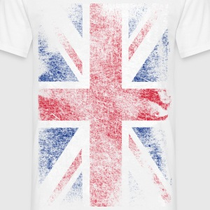 union jack - used look T-shirts - Herre-T-shirt