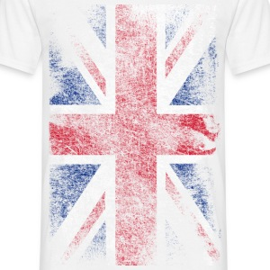 union jack - used look T-skjorter - T-skjorte for menn