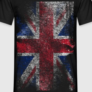 union jack - used look T-shirt - Maglietta da uomo