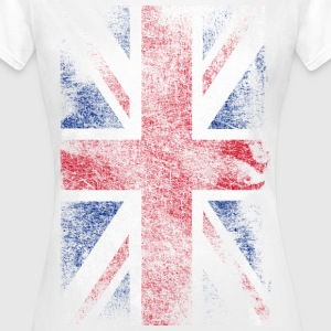 union jack - used look T-skjorter - T-skjorte for kvinner