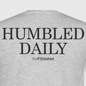 humbled_daily_logo T-Shirts - Men's T-Shirt