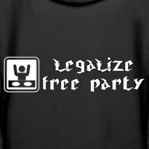free party Hoodies & Sweatshirts - Women's Premium Hoodie