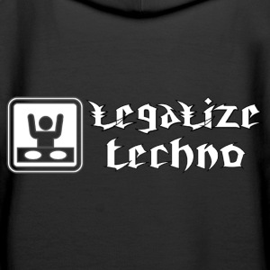 legalize techno Sweat-shirts - Sweat-shirt à capuche Premium pour femmes