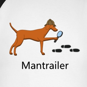 Mantrailing Vizsla Long sleeve shirts - Men's Long Sleeve Baseball T-Shirt