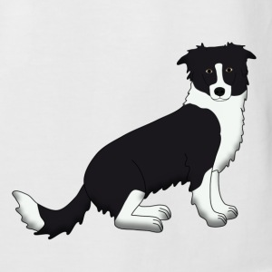 Border Collie Tee shirts - T-shirt baseball manches courtes Homme