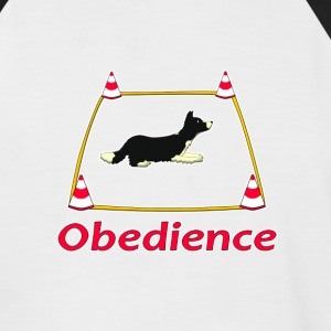 Obedience 3 Velvet T-Shirts - Men's Baseball T-Shirt