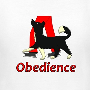 Obedience 1 Border Collie 1 T-shirts - T-shirt dam