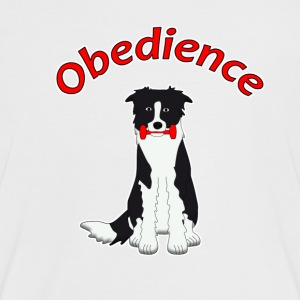 Obedience Border Collie 2 T-shirts - Kontrast-T-shirt dam