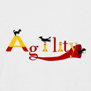 Agility: 3x Border Collie Tee shirts - T-shirt baseball manches courtes Homme