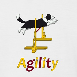 Agility: Hurdle Tee shirts - T-shirt baseball manches courtes Homme