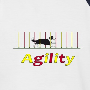 Agility: Slalom Tee shirts - T-shirt baseball manches courtes Homme