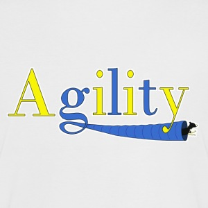 Agility 2 T-shirts - Vrouwen contrastshirt