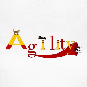 Agility dogs T-shirts - Vrouwen T-shirt
