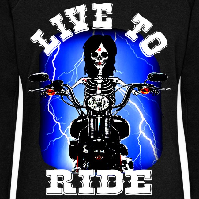 Pull femme live to ride