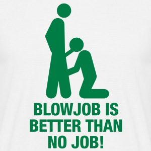 blowjob_no_job T-Shirts - Men's T-Shirt