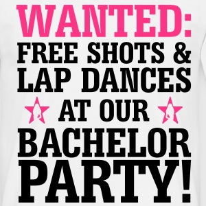 WANTED Bachelor Party - Men's T-Shirt
