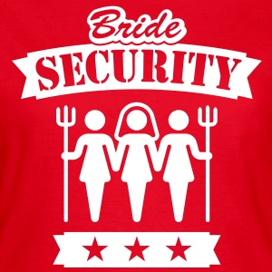 Bride Security, Women's Classic T-Shirt - Women's T-Shirt
