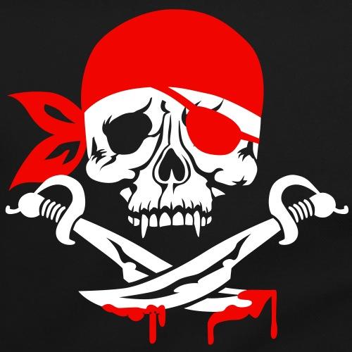 01 Totenkopf Skull Schädel Pirat Säbel 2c