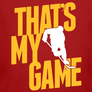 ice hockey - that's my game T-shirts - Organic mænd