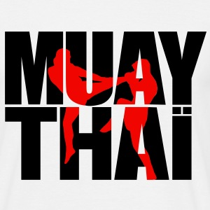 Muay thai logo full T-shirts - Mannen T-shirt
