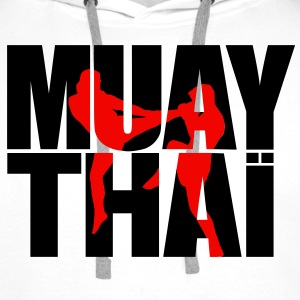 Muay thai logo full Hoodies & Sweatshirts - Men's Premium Hoodie