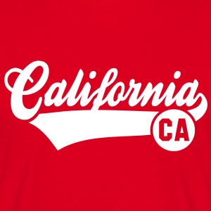California CA T-Shirt WR - Mannen T-shirt