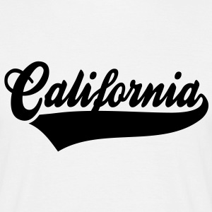 California T-Shirt BW - Mannen T-shirt