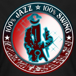 100 % jazz 100 % swing T-Shirts - Women's T-Shirt