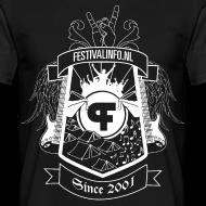 Ontwerp ~ Festivalinfo schild zwart (male)