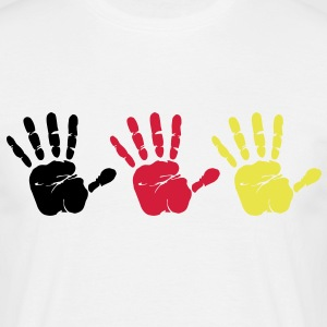 Handprint Trio - Men's T-Shirt