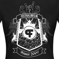 Ontwerp ~ Festivalinfo schild zwart (female)