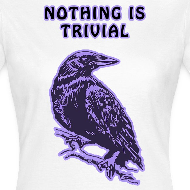 Purple Crow Womens Standard