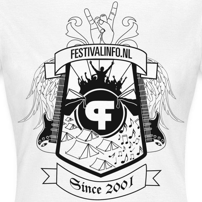 Festivalinfo schild wit (female)
