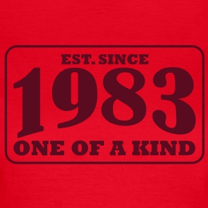 1983 - One Of A Kind T-Shirts - Frauen T-Shirt