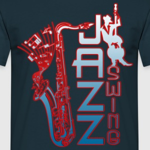 jazz swing T-Shirts - Men's T-Shirt