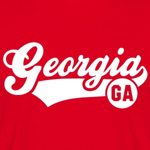 Georgia GA T-Shirt WR - Men's T-Shirt