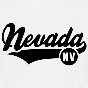 Nevada NV T-Shirt BW - Mannen T-shirt
