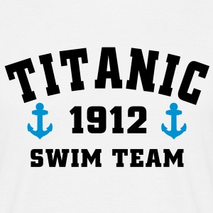 Titanic 1912 SwimTeam T-shirts - Herre-T-shirt