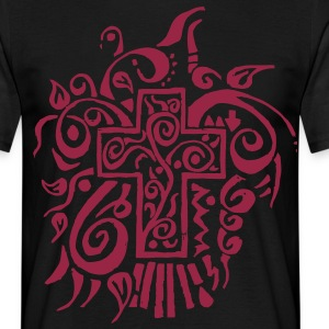 cross tribal T-Shirts - Men's T-Shirt