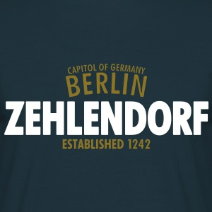 Capitol Of Germany Berlin - Zehlendorf Established 1242 - Männer T-Shirt