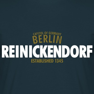 Capitol Of Germany Berlin - Reinickendorf Established 1345 - Männer T-Shirt