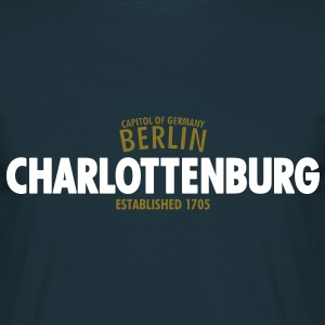 Capitol Of Germany Berlin - Charlottenburg Established 1705 - Männer T-Shirt