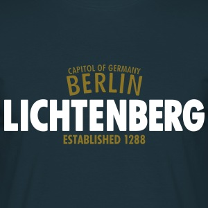 Capitol Of Germany Berlin - Lichtenberg Established 1288 - Männer T-Shirt